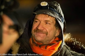 Allen Moore, 2013 Yukon Quest Champion. Photo by Albert Marquez/Planet Earth Adventures, LLC