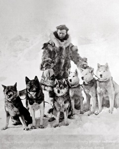 Leonhard Seppala and his huskies