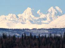 Alaska Range peaks