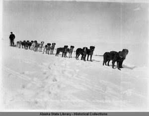 Allan and Darling Entry, Fifth Alaska Sweepstakes, 1912