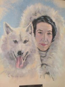 Mary Joyce and 'Wolf,