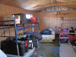 Bunkroom, to the left
