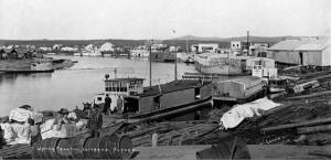 Iditarod waterfront, 1911