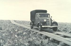 Plank_road_on_St._George_Island,_Alaska,_1938