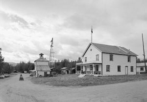 The courthouse in Eagle