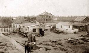 Fort Yukon, 1900