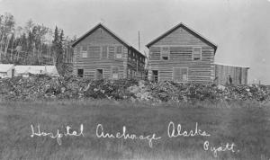 First hospital in Anchorage, Alaska
