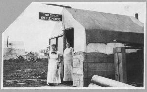 Two Women Waffle House