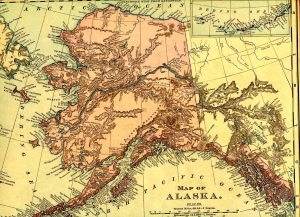 21. Alaska map 1895