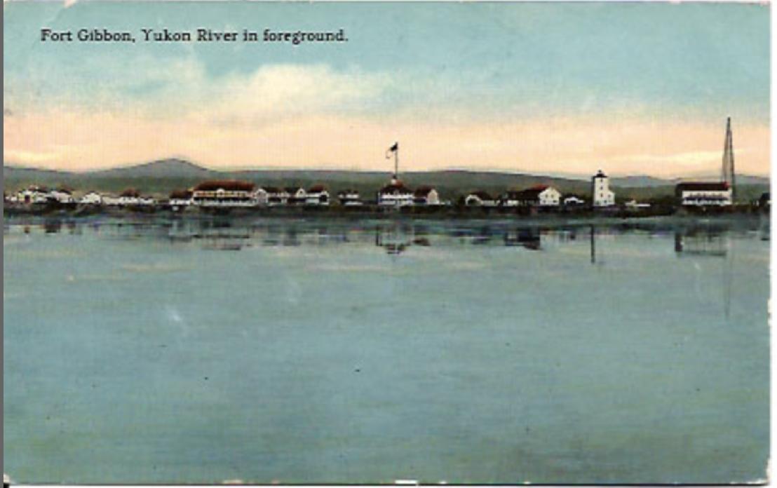 Ft. Gibbon on the Yukon River