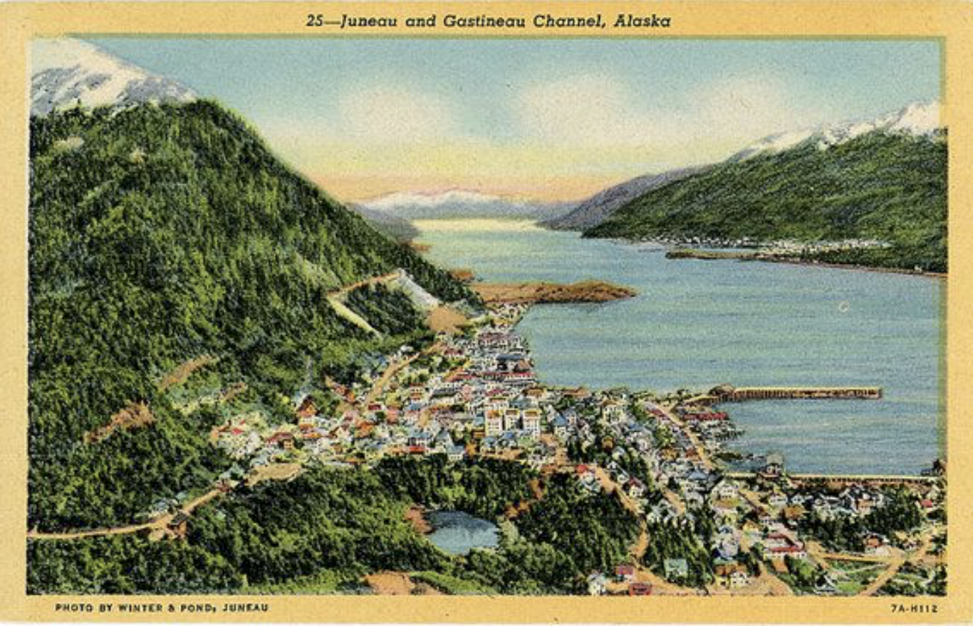 Juneau and Gastineau Channel