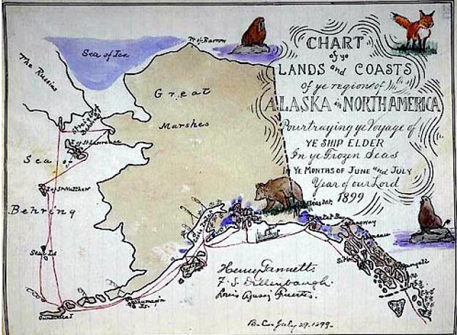 Gannetts Map